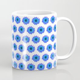 Blue Sunflower Coffee Mug