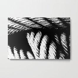 sailor hawser - graphic Metal Print