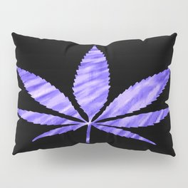 Weed : High Times Purple Blue Pillow Sham