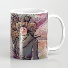 Eagle Huntress Coffee Mug