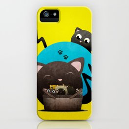 Mommacat iPhone Case