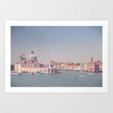 Sailing Into Venice Art Print
