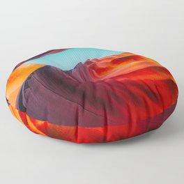 Fantasy Sun Cave Floor Pillow