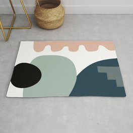 Shape study #18 - Stackable Collection Rug