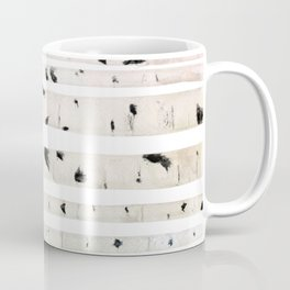 birch watercolor pattern 2018 Coffee Mug
