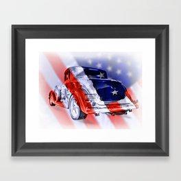 American Classic Framed Art Print