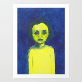 Les petites filles I.11 Art Print