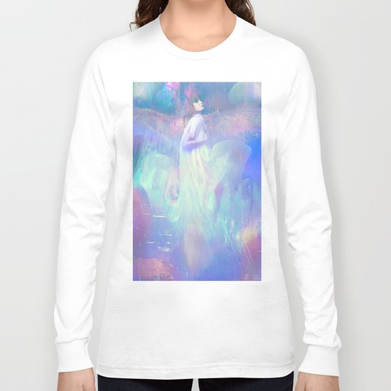 Ask your angel Long Sleeve T-shirt