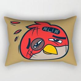 Battered Bird II Rectangular Pillow