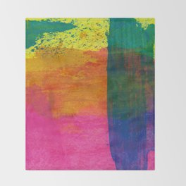 Abstract No. 408 Throw Blanket