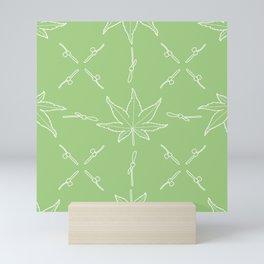 Smooth Japanese Maple Pattern Mini Art Print