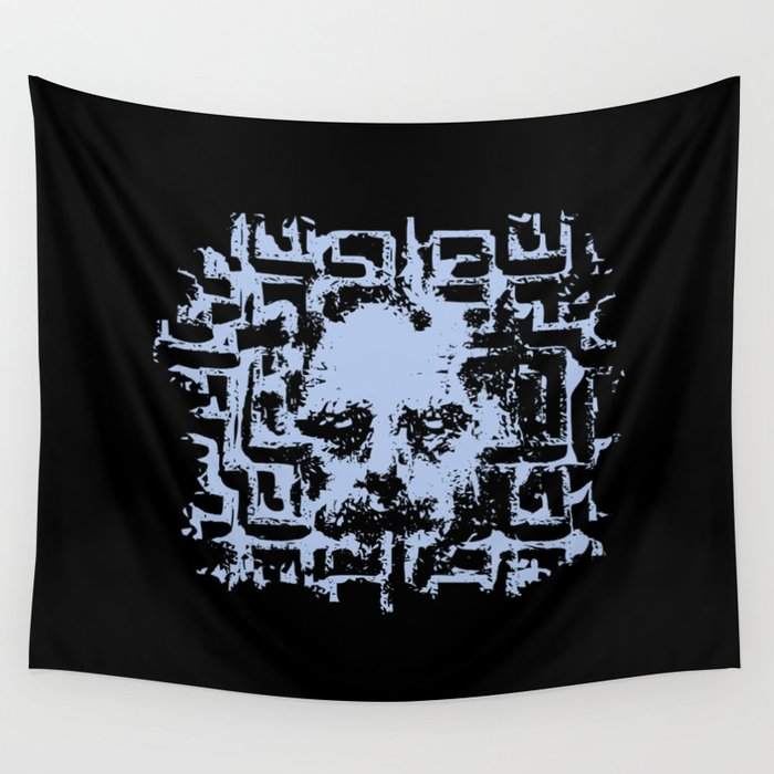You Have Always Been the Caretaker Here Wall Tapestry