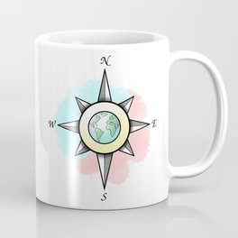 International Compass Coffee Mug