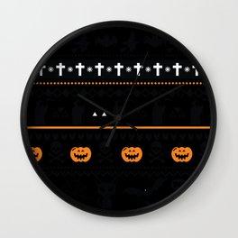 Funny Halloween Shirts - Halloween Hoodie - Halloween T Shirts Wall Clock