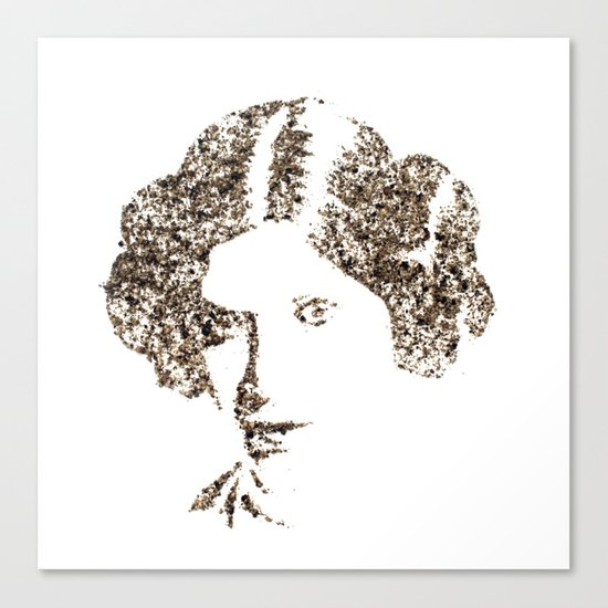 Spices Leia - Black Pepper Canvas Print