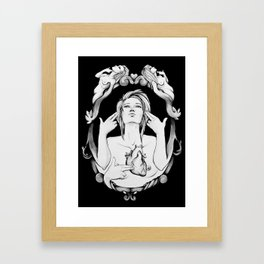 Hostage to Yourself Framed Art Print