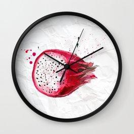 Dragon-fruit Wall Clock