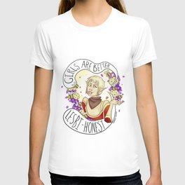 Never an agreeable girl. T-shirt