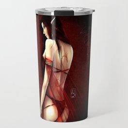 Elf in Red Travel Mug