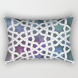 Galaxy Cutout Rectangular Pillow