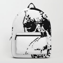 The Skull of Phineas Gage Vintage Illustration Backpack
