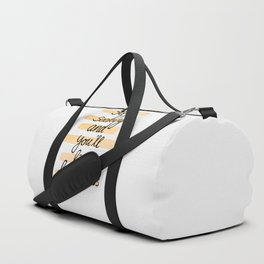 Seeking Happiness Duffle Bag