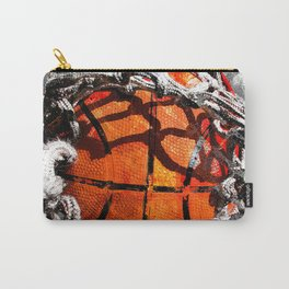 Basketball art swoosh vs 35 Carry-All Pouch