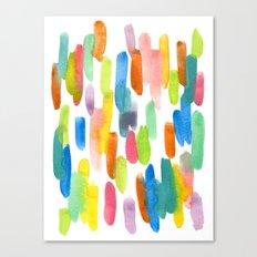 Pastel Pops Canvas Print