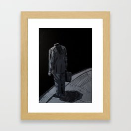 What if it´s all a lie? 2012. Framed Art Print