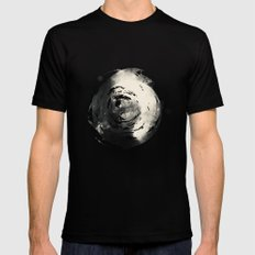 Pluto in Love LARGE Black Mens Fitted Tee