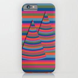 Spring peaks iPhone Case