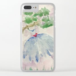 Dancing in the Breeze Clear iPhone Case