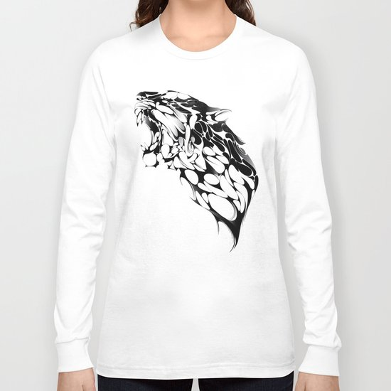 Tiger Growl Long Sleeve T-shirt