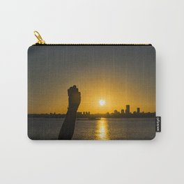 Sunset Cityscape Scene, Montevideo, Uruguay Carry-All Pouch