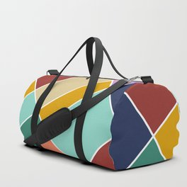 Abstract Retro Painting Duffle Bag