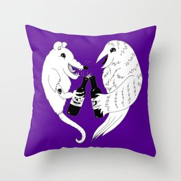 Baltimore Pride Throw Pillow