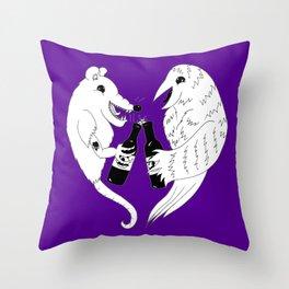 Baltimore Pride Throw Pillow
