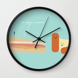 Croqueta Preparada Wall Clock