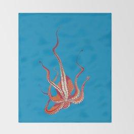 Stitches: Octopus Throw Blanket