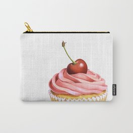 The Perfect Pink Cupcake Carry-All Pouch