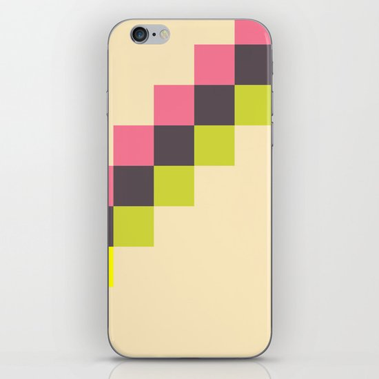 Stairs of Squares iPhone & iPod Skin