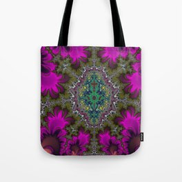 Fractal Abstract 73 Tote Bag