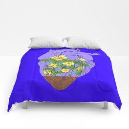 Heart Terrarium Comforters