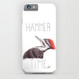Hammer Time (Pileated Woodpecker) iPhone Case