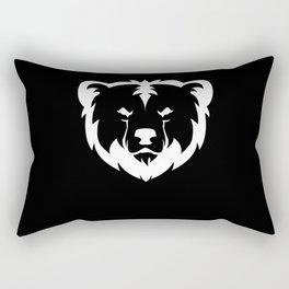 Wild Bear Clothing Design Rectangular Pillow
