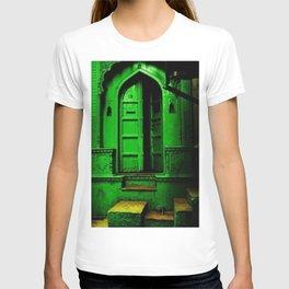 In the Dark Back Allies Secret Doorway T-shirt