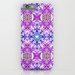 Mehndi Ethnic Style G376 iPhone Case