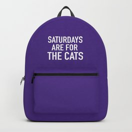 Saturdays are for the Cats Backpack