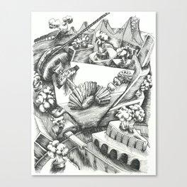 San Francisco Steamworks Canvas Print