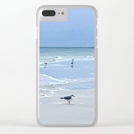 For the birds Clear iPhone Case